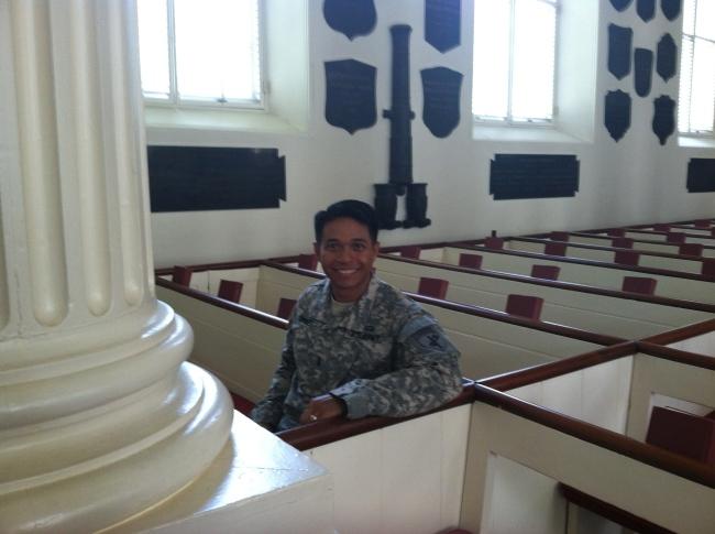 Sitting Where Washington Sat (Christian Torres)