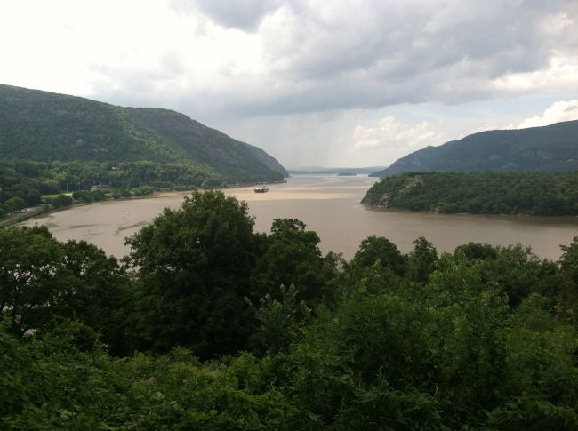 West Point, overlooking the beautiful Hudson River, (Christian Torres iPhone)