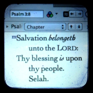 """Salvation is of the Lord"""