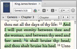 The Protoevangelium, Gen 3:15.