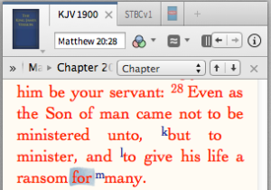 """""""to give His life a ransom for many."""""""